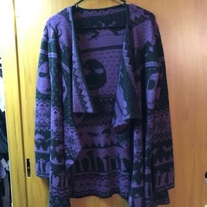 The Nightmare Before Christmas Sweater Cardigan